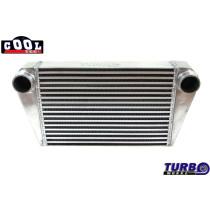 Intercooler TurboWorks 450x300x76 hátsó kivezetéssel